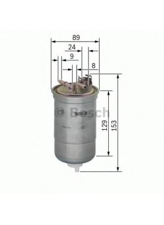 BOSCH Kütusefilter (0450906334)