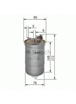 BOSCH Kütusefilter (0450906373)