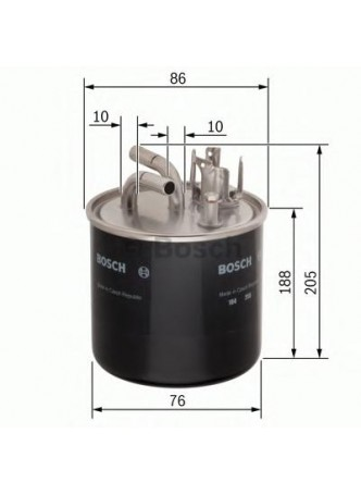 BOSCH Kütusefilter (0450906459)