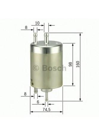 BOSCH Kütusefilter (0450915003)