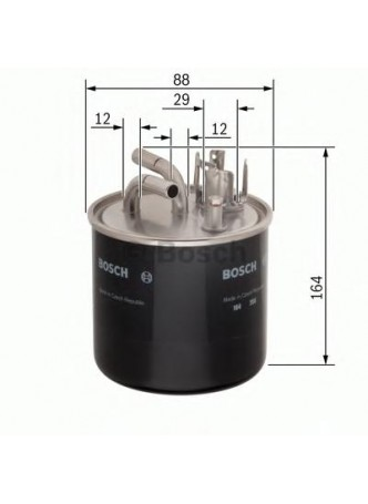 BOSCH Kütusefilter (0986450509)