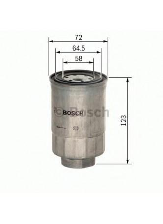 BOSCH Kütusefilter (1457434440)