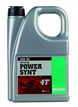 MOTOREX POWER SYNT 4T 10W50 4L