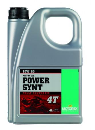 MOTOREX POWER SYNT 4T 10W60 4L