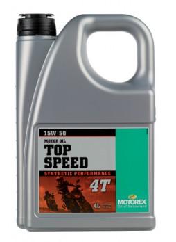 MOTOREX TOP SPEED 4T 15W50 4L