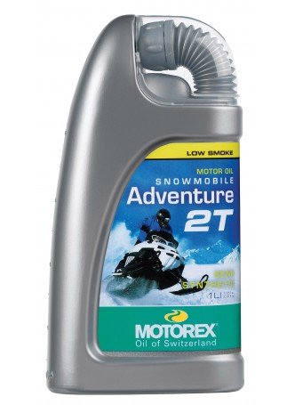 MOTOREX SNOWMOBILE ADVENTURE 2T 1L