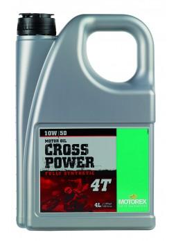 MOTOREX CROSSPOWER 4T 10W50 4L