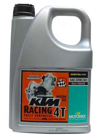 MOTOREX KTM RACING 4T 20W60 4L