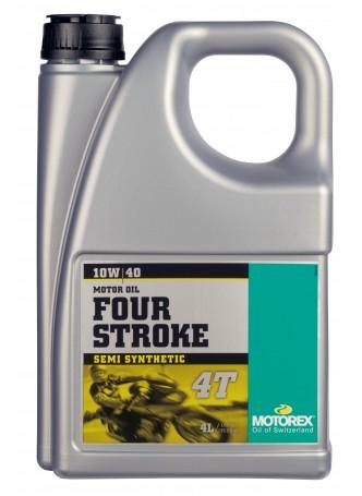 MOTOREX 4-STROKE MOTOR OIL 10W40 4L