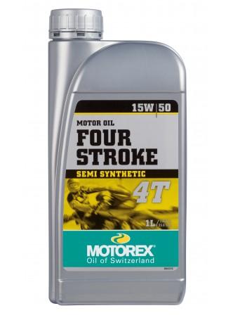 MOTOREX 4-STROKE MOTOR OIL 15W50 1L