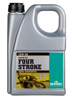 MOTOREX 4-STROKE MOTOR OIL 15W50 4L
