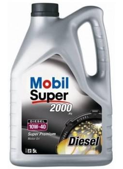 MOBIL SUPER 2000 DIESEL 10W40 5L